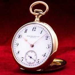 Hochwertige 18K Gold Vintage Taschenuhr