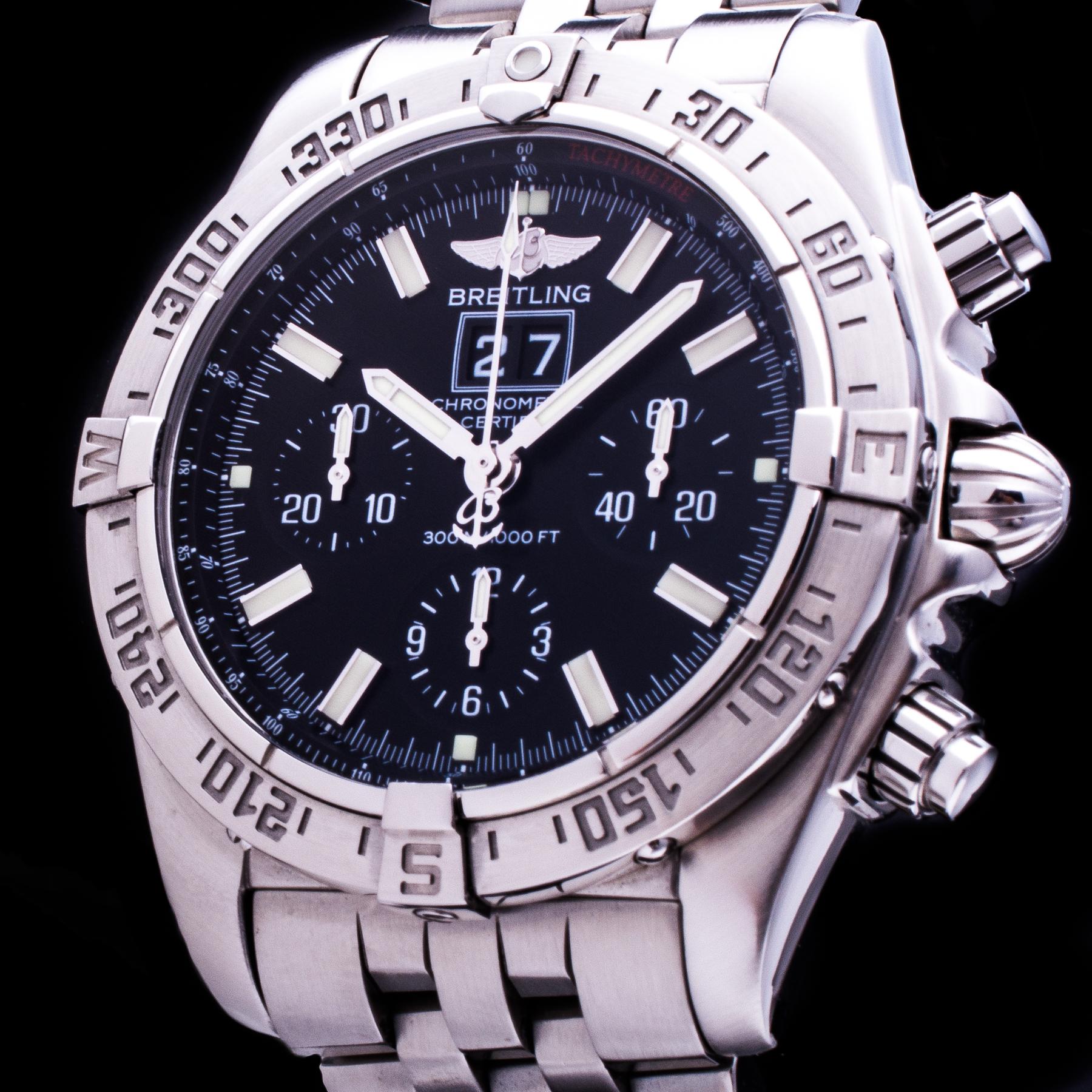 Chronomat Blackbird Chronograph Automatic Panorama Date Ref. A44359 Herren