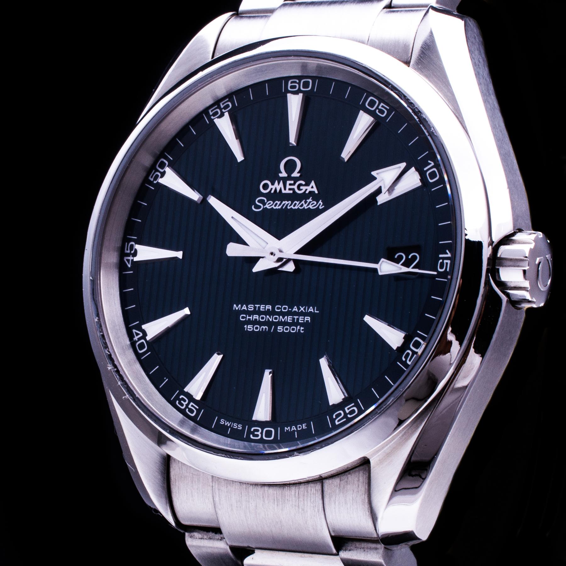 Seamaster Aqua Terra Master Co-Axial Automatic Date Herren