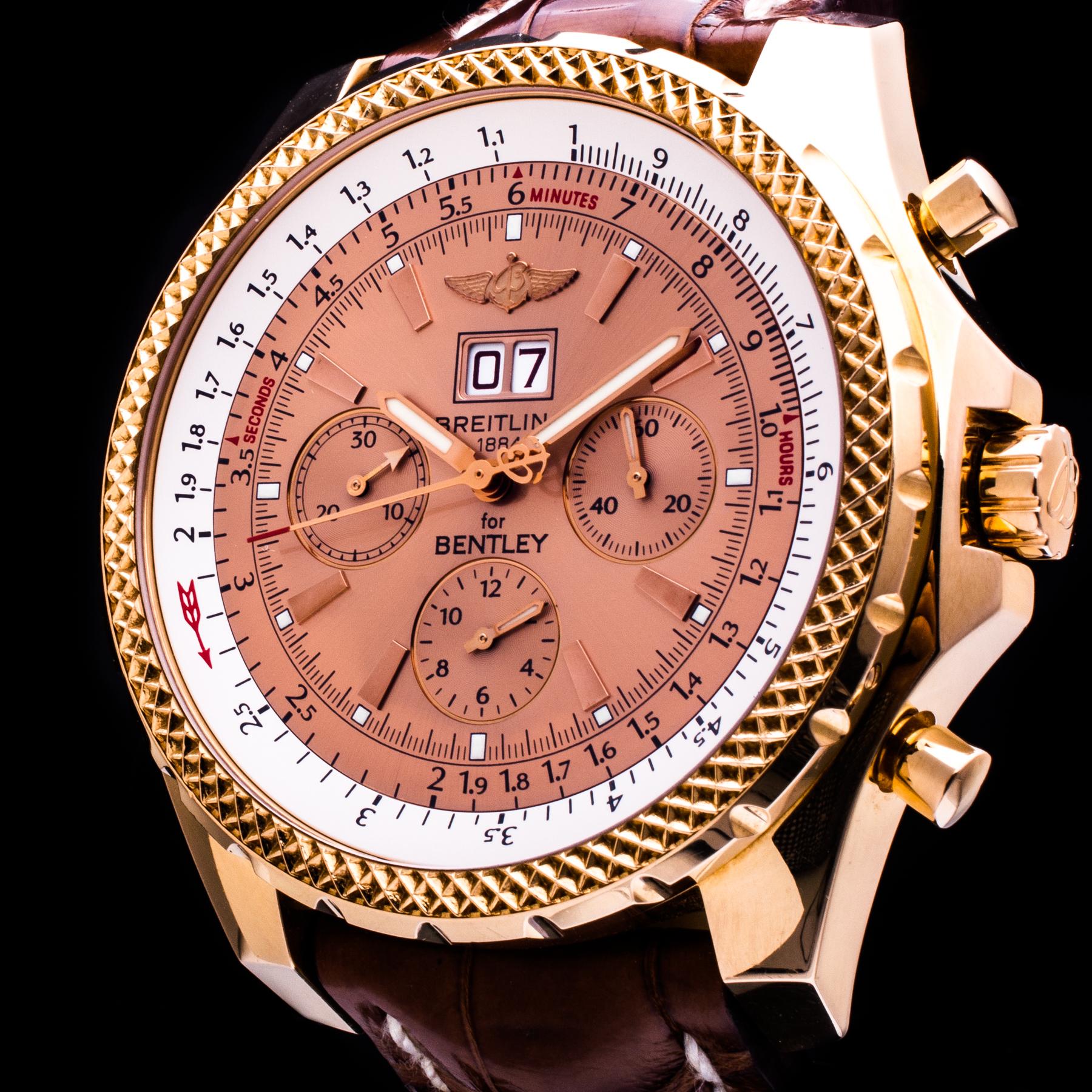 Bentley 6.75 18K Rosegold Chronograph Automatik 100 Pieces Limited