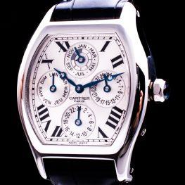 Tortue Perpetual Calendar GMT 950 Platinum Automatic Glasboden W1540551 Herren
