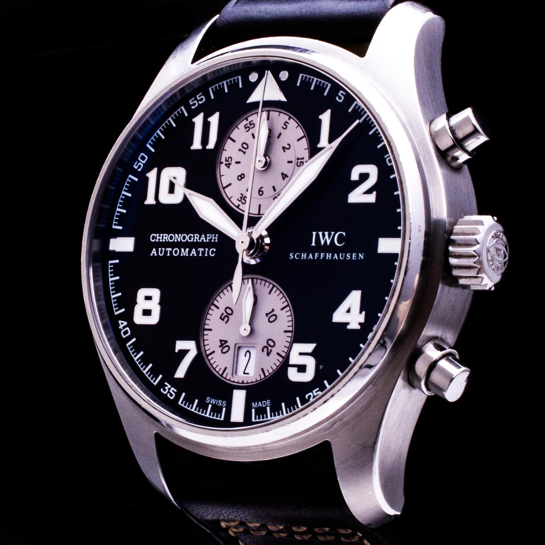 Fliegeruhr Antoine de Saint Exupéry Chronograph Automatic Date Ref. IW387806 Herren