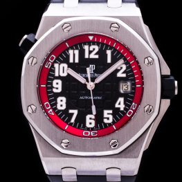 "Royal Oak Offshore Automatic Date Red Diver ""Boutique Special Edition"" Limited Full Set Herren"
