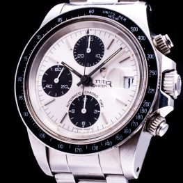 Oysterdate Big Block Chronograph Unpolished Automatic Date Ref. 79160 Papiere Herren