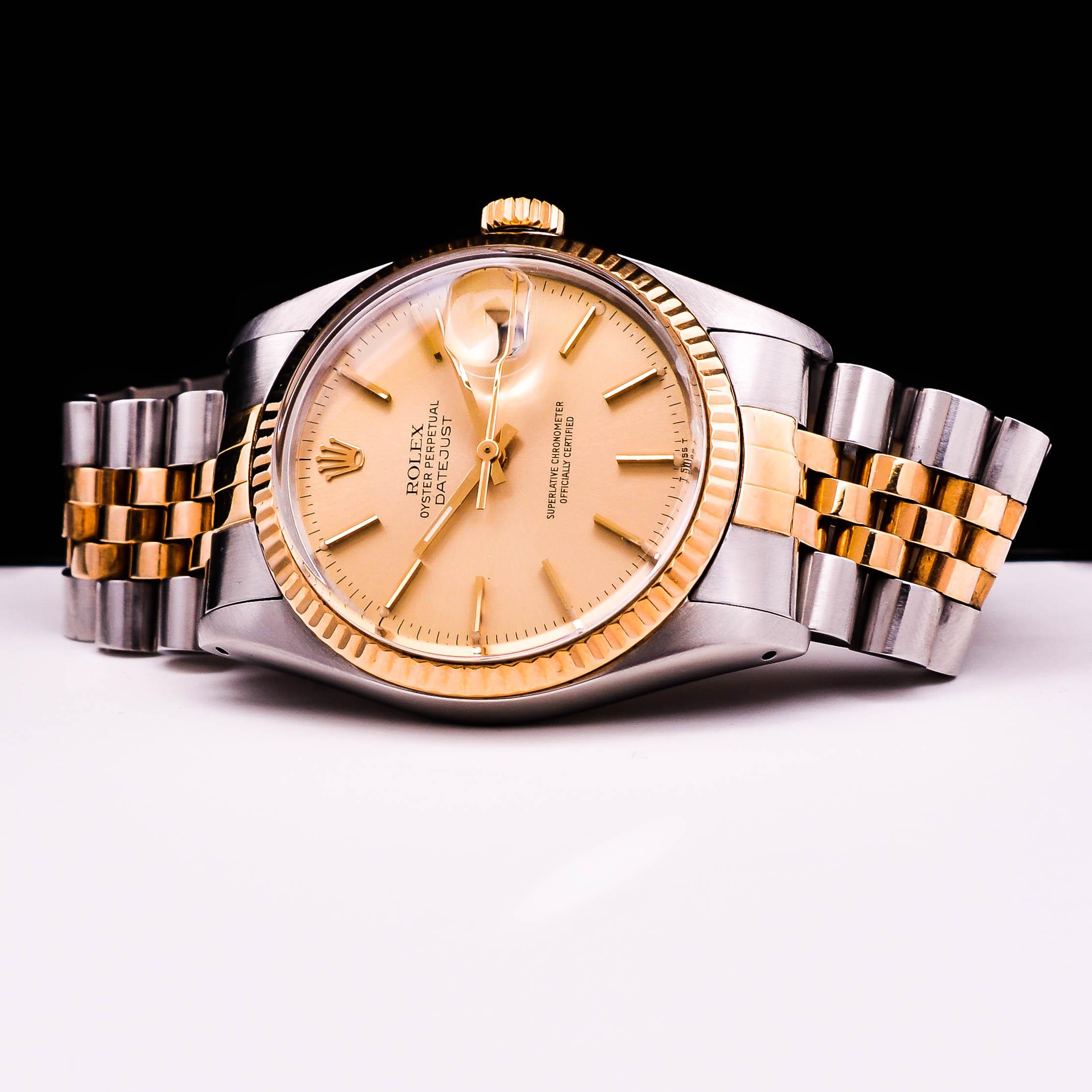 Rolex Datejust 18K Gold/Stahl Automatic Date Herren Online